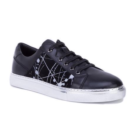 Kayden Sneaker // Silver + Black (US: 8)
