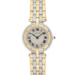 Cartier 3-Row Panthere Quartz // Pre-Owned