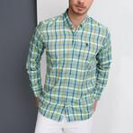 Isaac Button-Up Shirt // Green (Large)