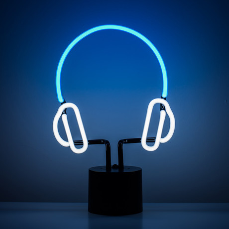 Headphone Neon Light