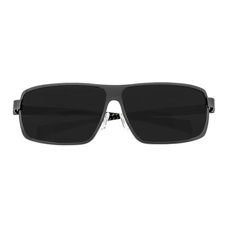 Breed // Finlay Polarized Sunglasses (Black Frame + Black Lens)