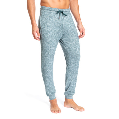 Super Soft Heather Lounge Pants // Green (S)