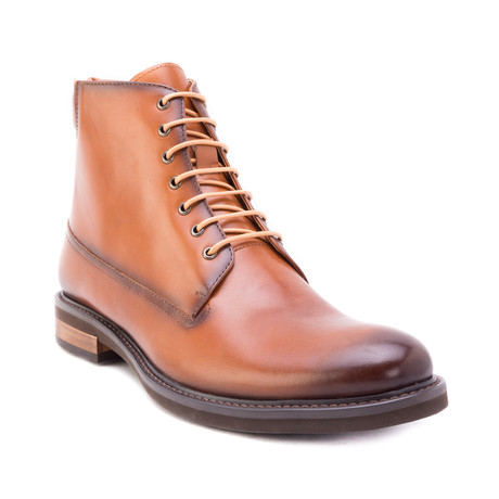 Okada Lace-Up Boot // Cognac (US: 8)