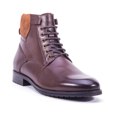 Kenz Lace-Up Boot // Brown (US: 8)