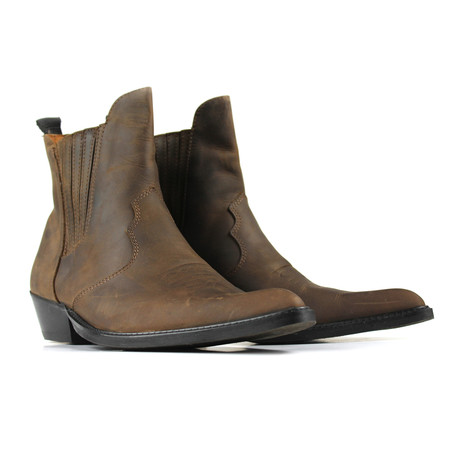 Luis Ankle Boots // Chocolate Nubuck (US: 8.5)