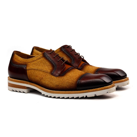 Emmanuel Derby // Brown + Cognac (Euro: 40)