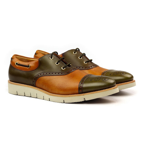 Andres Oxford // Brown + Cognac (Euro: 40)