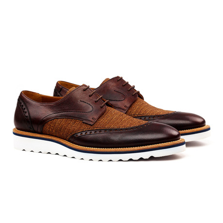 Esteban Derby // Brown + Cognac (Euro: 40)