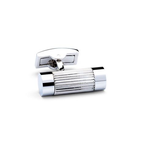 Cylinder Cufflinks // Silver