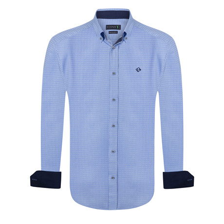 Albatross Shirt // Blue (XS)
