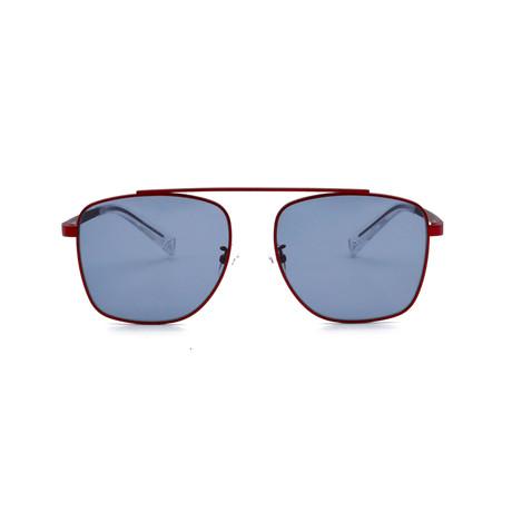 Generation Sunglasses // Chili Red + Solid Smoke