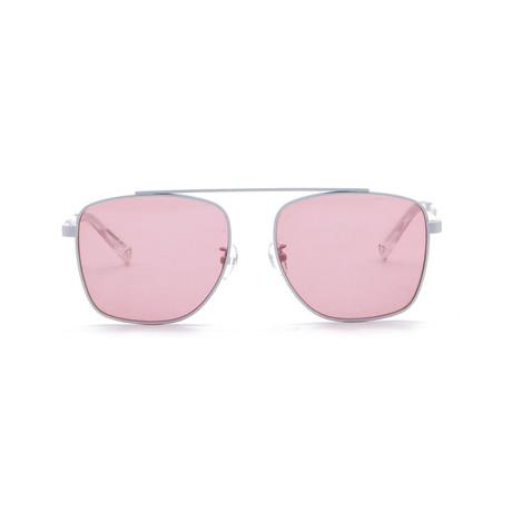 Generation Sunglasses // Blanc + Solid Orange