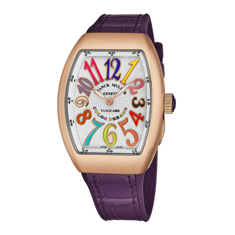 Franck Muller Vanguard Color Dreams Automatic // 32 QZ CL DR 5N PURP