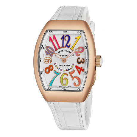 Franck Muller Vanguard Color Dreams Automatic // 32 QZ CL DR 51 WHT