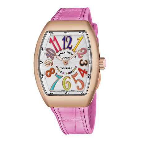 Franck Muller Vanguard Color Dreams Automatic // 32 QZ CL DR 5N ROSE