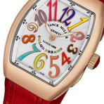 Franck Muller Ladies Vanguard Color Dreams Automatic // 32QZCLDR5NRED