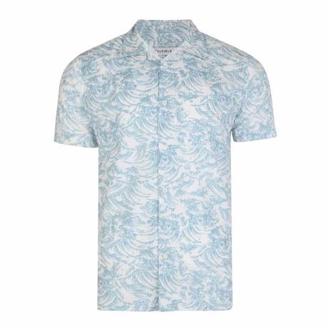 Oshima Wave Shirt // White (S)