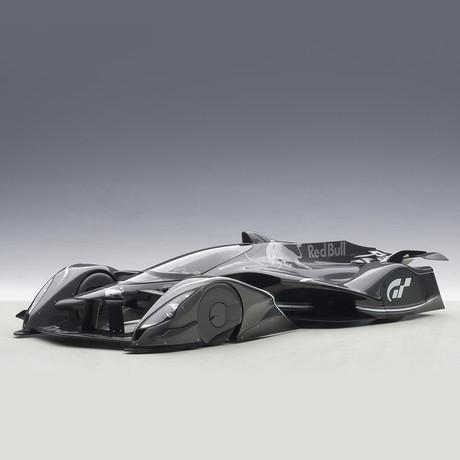 Red Bull X2014 Fan Car // Dark Silver Metallic