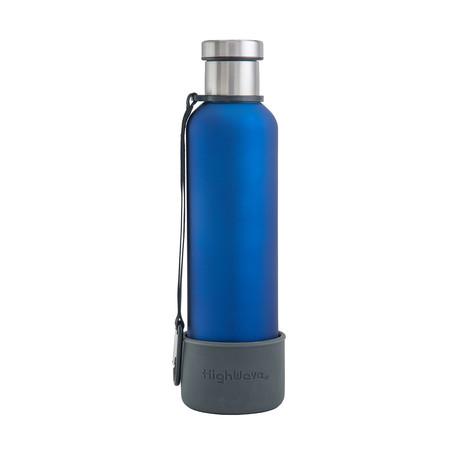 Dog + Me Bowl + Time Capsule Bottle // Blue