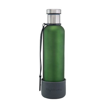 Dog + Me Bowl + Time Capsule Bottle // Green