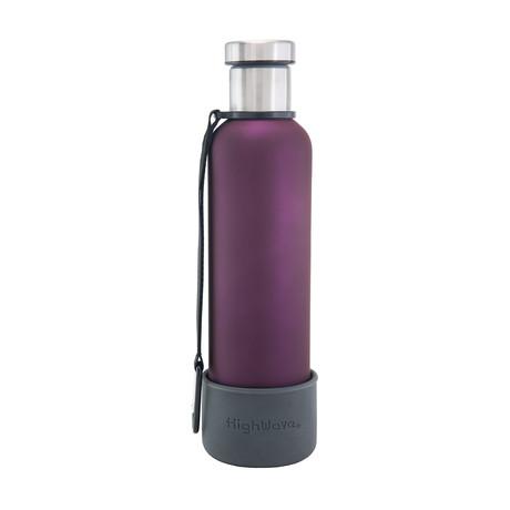 Dog + Me Bowl + Time Capsule Bottle // Purple