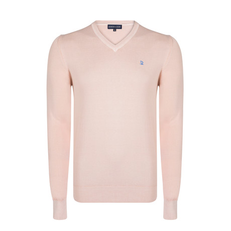 Beric Washed Spring Pullover // Pink (XS)