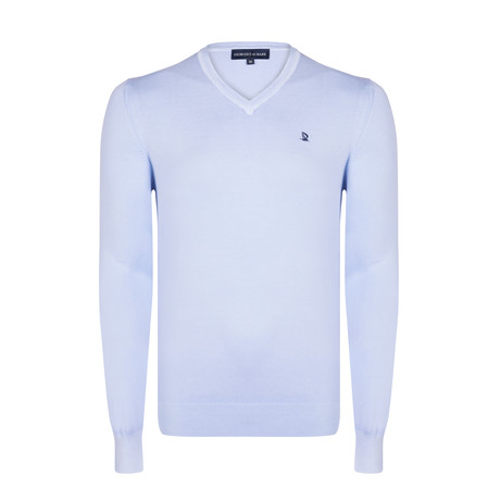Davos Washed Spring Pullover // Blue (XS)
