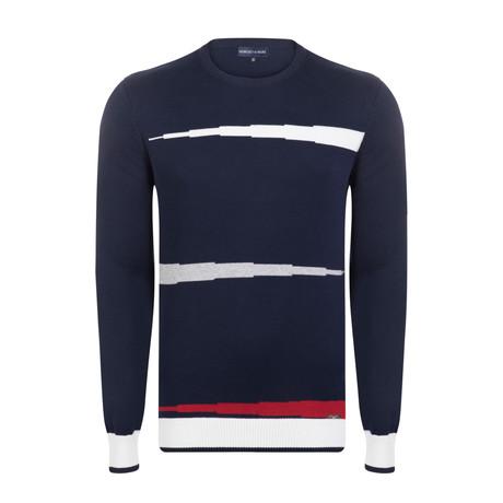 Sandor Spring Pullover // Navy (XS)