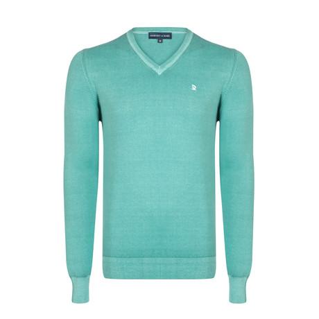 Jorah Washed Spring Pullover // Green (XS)