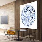 "Diamond Drops I (54""W x 54""H x 1.25""D)"