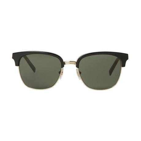 Montblanc Men's Classic Sunglasses // Black + Gold + Gray