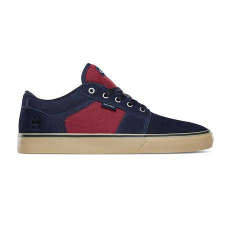 Barge LS Sneaker // Navy + Red + Gum (US: 5)