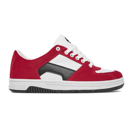 Senix Lo Sneaker // Red + White + Black (US: 5)