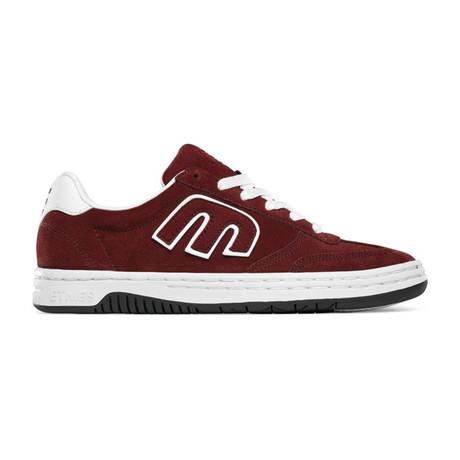 Locut Sneaker // Burgundy + White (US: 5)