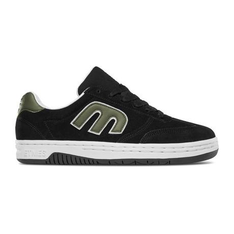 Locut Sneaker // Black + Green + White (US: 5)