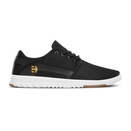 Scout Sneaker // Black + White + Gum (US: 5)