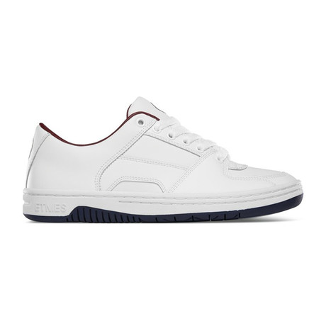 Senix Lo Sneaker // White + Navy + Red (US: 5)