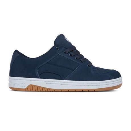 Senix Lo Sneaker // Navy + White + Gum (US: 5)
