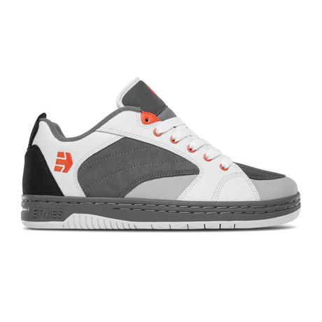 Czar Sneaker // Gray + White + Orange (US: 5)