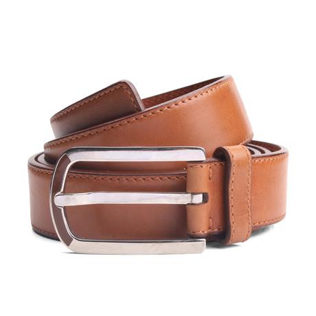 """Monty Leather Belt // Brown (33"""" Waist)"""
