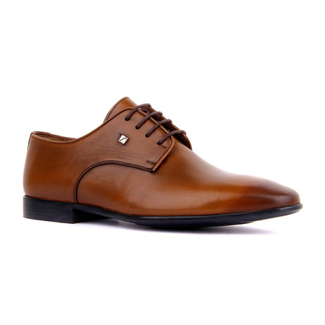 Jiro Dress Shoes // Tobacco (Euro: 37)