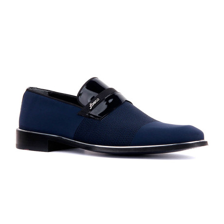 Alca Two-Tone Loafer // Navy Blue (Euro: 37)