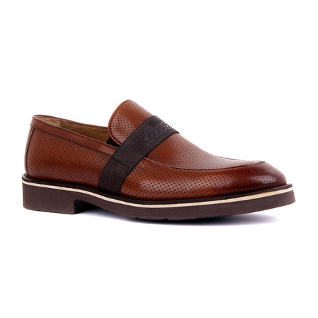 Ponio Banded Slip-On // Tobacco (Euro: 37)