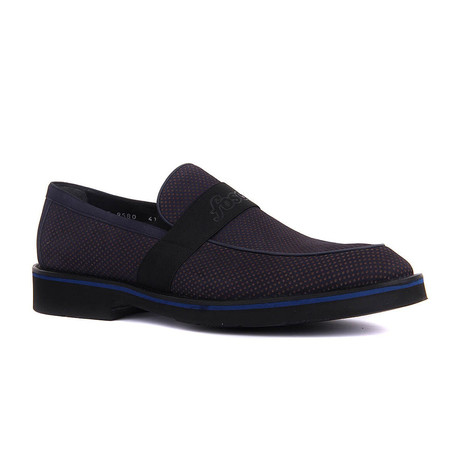 Upa Banded Slip-On // Navy Blue (Euro: 37)