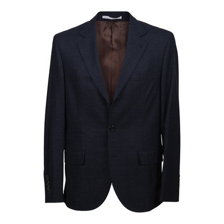 Wool Cashmere Blend Suit // Navy (Euro: 46)