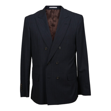 Virgin Wool Suit // Dark Navy (Euro: 48)