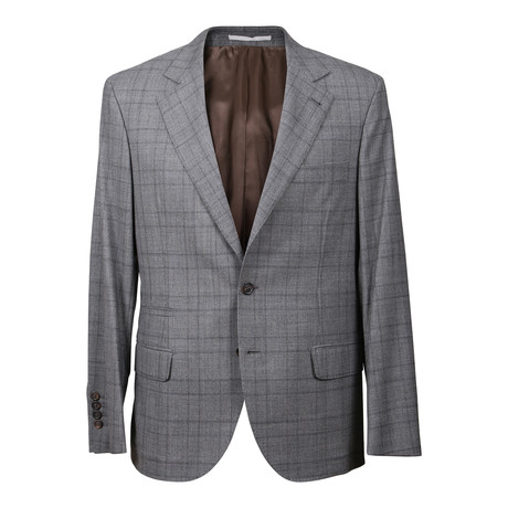 Virgin Wool Suit // Light Gray (Euro: 46)