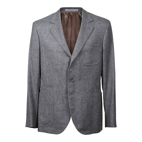 Virgin Wool Suit // Gray (Euro: 48)