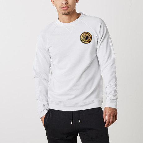 Versace Collection // Salvatore Logo Gym Shirt // White (XS)