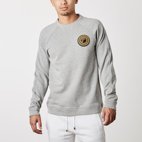 Versace Collection // Santo Logo Gym Shirt // Gray (XS)